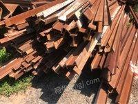 二手钢材回收、工字钢、铁板、钢板桩、钢筋、镀锌管、槽钢、钢管、扣件