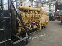 出售3512B卡特发电机组2004年,只用六百多个小时无动过螺丝