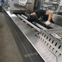 内蒙古巴彦淖尔出售二手拉牛肉干伸膜包装机滚揉机斩拌机下料机封口机清洗机 150000元