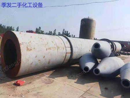 山东济宁出售1台二手2.2*20米滚筒烘干机电议或面议