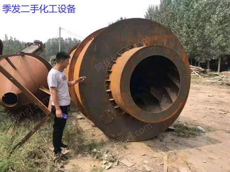 山东济宁出售1台二手三筒烘干机电议或面议