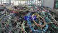 四川成都出售100吨旧电线电缆电议或面议