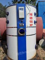 优惠出售9成新1吨立式二手燃气锅炉