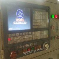 山东潍坊厂里减产处理数控平头打孔机铣打机 44000元