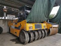 湖北武汉出售1台全液压轮胎压路机YL26H二手压路机电议或面议