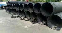 超低价转让全新6米长 HDPE(国标)高密度聚乙烯双壁波纹管300根