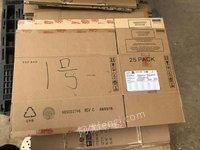湖北武汉出售大量二手纸箱