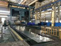 机械厂转让二手西门子系统【北一XKA2850桥式数控镗铣床】二手数控镗铣床