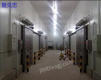 高价回收二手大型冷库设备 二手冷库压缩机制冷机组 三洋比泽尔谷轮富士豪—龙正制冷