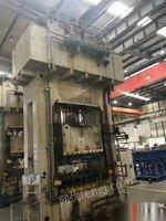 浙江舟山低价处理二手南通锻压YQK27-500液压机液压机框架一体机