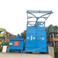 山东济南出售大型抛丸机qxx40大丰产10年1500吨台面2米