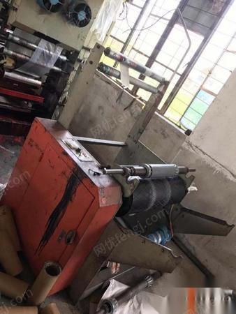 上海宝山区转型了出售二手2015年上海台联45低压高速吹膜机一台.一台15年瑞安产切袋机450*2的卖2.5万