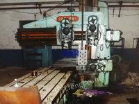 出售二手1.25米X4米济南二机床厂产单臂刨床