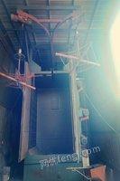 安徽安庆出售二手吊钩式抛丸机双沟一吨三个抛丸器 45000元
