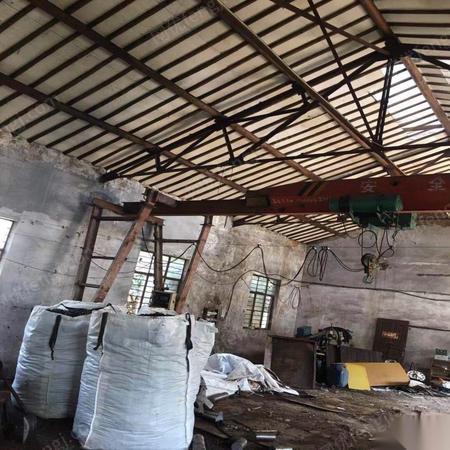 江苏无锡废铁价出售3吨行车,跨度九米  10000元