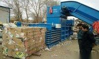 浙江杭州处理转让二手废纸打包机合伙人解散不干了龙门剪切机 65000元