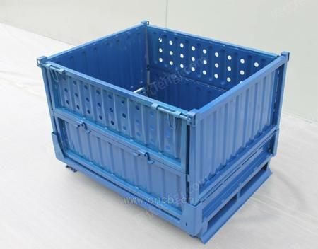 供应波纹板周转箱网状金属箱