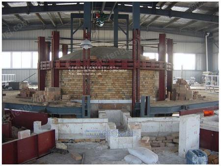 日产30.0吨高硼硅玻璃的电熔炉