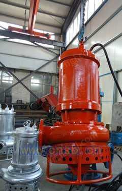 潜水砂石泵、选矿厂尾矿泵