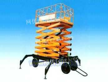 仓储设备液压移动升降平台8吨登车