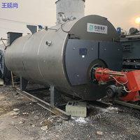 低價出售2噸導熱油二手燃氣鍋爐