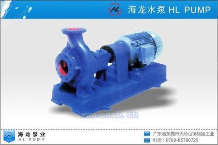 海龙HL100-80冷冻泵
