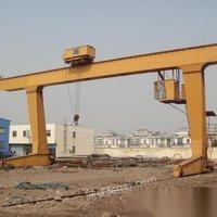 山东泰安低价处理数台L型龙门吊16/5吨20/3吨低价出售单梁龙门吊