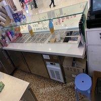 黑龙江哈尔滨出售冷饮车全套设备嘎嘎新 38888元