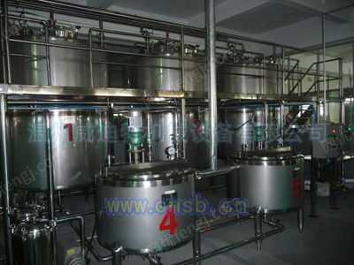 康师傅茶饮料生产线