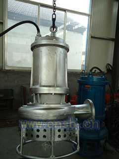 耐磨尾砂矿浆泵-CSQ型