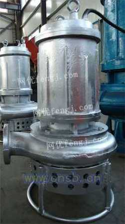耐磨潜水泥沙泵/排沙泵