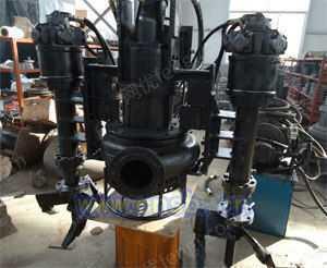 潜水液压驱动渣浆泵