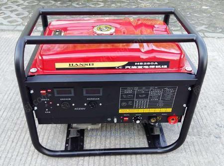 发电电焊两用机柴油电启动