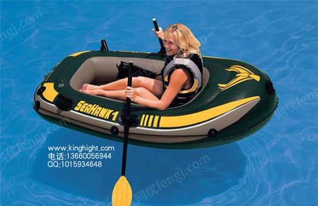 出售充氣船橡皮船特價1人船 INTEX