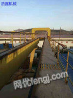 Sell 1 used double main beam gantry crane with weight of 35/10 tons, span of 35 meters