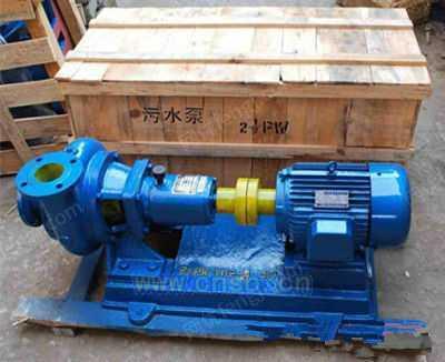 制造PW,PWL,PWF型污水泵