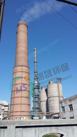 出售明晟環保承接高爐、焦爐煤氣精脫硫改造