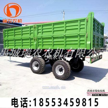 供应欧式拖车 12吨常规欧式拖斗