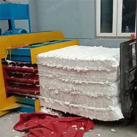 出售顺阳牌废旧纸箱卧式打包机 自动废纸箱打包机 自动上料打包机