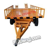 带过渡桥5吨平板拖车