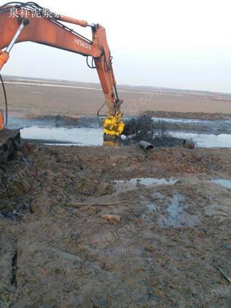 污泥泵清淤厂家,挖掘机泥浆泵