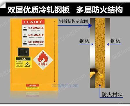 深圳防爆柜危化品储存柜安全防火