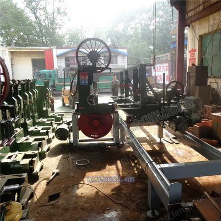 订制新型木工机械带锯机配4米推台