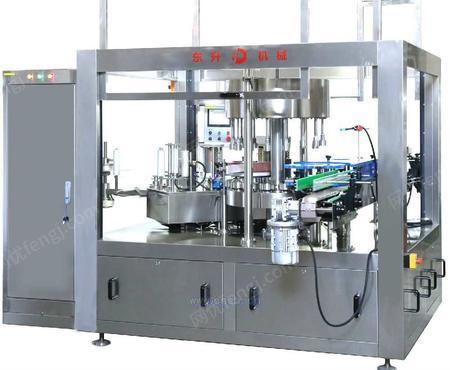 轮转式热熔胶卷膜贴标机
