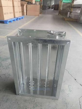 厂家大量生产铝合金、镀锌板防火阀