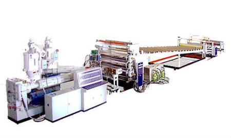 出售PP中空建筑模板生產線設備