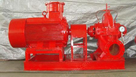 出售XBD-SW型水平中開消防泵,山東博昱泵