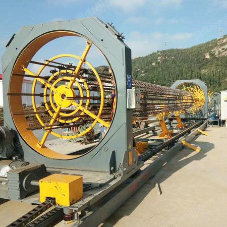 出售数控钢筋笼滚焊机SYGT1500数控钢筋笼滚笼机钢筋笼成型机