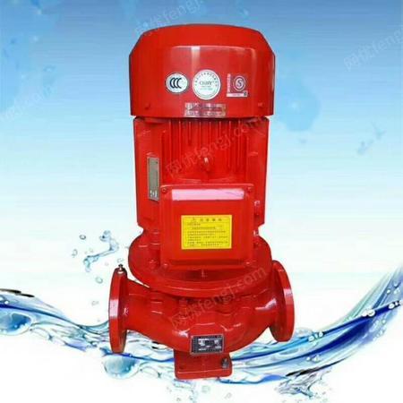 出售上海战泉立式单级消防泵室内外消防喷淋泵XBD6.0/5G-L