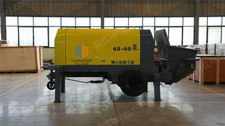 出售黑龙江萨奥40型细石混凝土泵